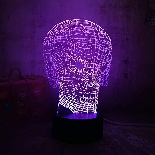Luz de noche Auriculares con luz 3D Auriculares con música de estudio Luz de noche 3D Luz colorida Lámpara de escritorio Luz de dormitorio con control remoto