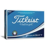 Titleist Tour Soft Bolas Golf, Blanco, Talla Única