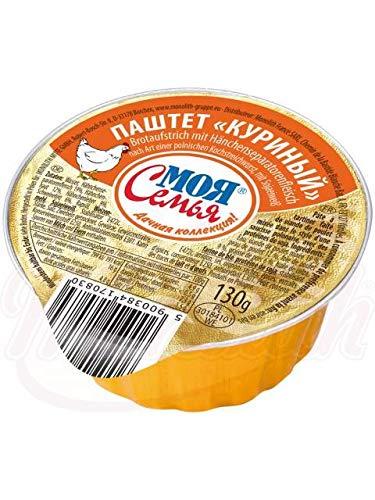 """4x Pastete, Brotaufstrich mit Hänchenfleisch 130g Паштет """"куриный"""""""