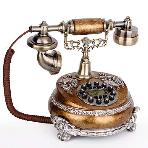 Elefono Fijo Vintagemáquina Clásica del Viejo De La Moda Retro del Teléfono...