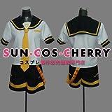 【サイズ選択可】コスプレ衣装 P-061 VOCALOID 鏡音レン Len 公式服 男性Lサイズ