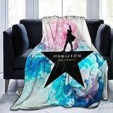 Kaopey Ultra Soft Flannel Fleece Blanket Hamilton an American Musical Fashion Stylish Bedroom Living Room Sofa Warm Throw Blanket 50'X40' (Color1, 50'x40')