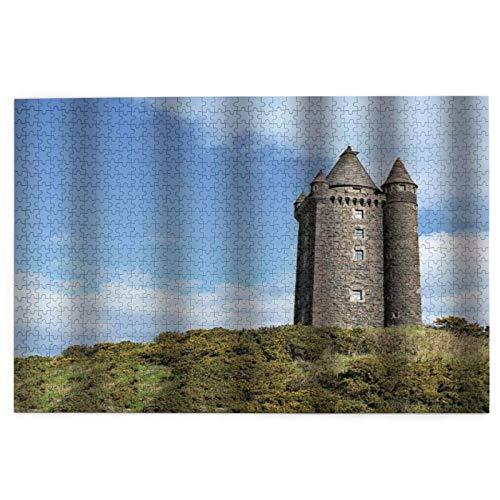 1000 Teile Puzzle für Kinder und Erwachsene, Kunstdruck, Game of Thrones Aussichtsplatz Nordirland Turm DIY Puzzles Festival Home Dekorationen