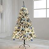 Vordekoriert Holly Pop-Up-Weihnachtsbaum barir (Size : 6.8Ft(210CM))