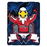 NHL Washington Capitals 'Mascot' Micro Raschel Throw Blanket, 46' x 60'