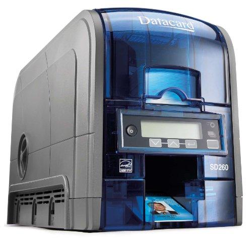 DataCard SD260 - Plastikkarten-Drucker (Farbstoffsublimation, 300 x 300 DPI, 1D,2D, 200 Karte/h, 830 Karte/h, 85,6 x 53,98 mm)