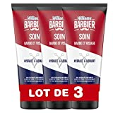 Williams Barbier Soin Barbe/Visage Cèdre EG Genévrier 100 ml - Lot de 3