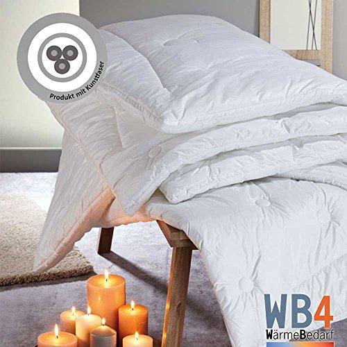 Dormabell Steppbett Klimafaser-Edition WB4, enorm leichte Decke mit hoher Wärmespeicherung für kühle Nächte, versch. Größen und Füllungen zur Auswahl (Klimafaser, 140 x 220 cm)