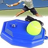 Entrenador de Tenis BESTZY Herramienta de Entrenamiento de Tenis Entrenador de Pelota de Tenis con Base de Poder de Rebote de Tenis con Pelota de Tenis Polígono