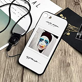 Inspired by Lady Gaga Phone Case Compatible With Iphone 7 XR 6s Plus 6 X 8 9 Cases XS Max Clear Iphones Cases TPU - Joanne- Nails- Hbo- Music- Music- 32849734172