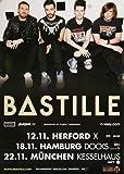 Bastille - Oblivion, Tour 2013 » Konzertplakat/Premium