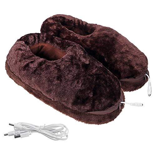 Calentador De Pies Calentador Pies Calienta Pies Zapatillas Cálidas Para Pies Eléctricos Unisex, Zapatos Cálidos Para Pies Usb, Zapatos Cálidos De Invierno Para Interiores, Zapatillas De Calef