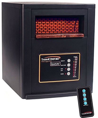 Best Review Of EdenPURE A5551b Trusted Comfort Heater with Solid Copper PTC and Remote