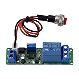 Akozon Timer Module DC 12V Adjustable Timer Delay Turn OFF Module Timing Relay Time Switch 1~10sec
