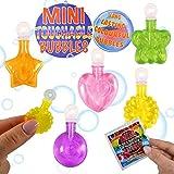 KP KINPARTY ® - POMPEROS con Burbujas MAGICAS Y TANGIBLES (12 Pcs) – Ideal para Regalar en Fiestas de cumpleaños, Fiestas al Aire Libre, para Rellenar piñatas, para cajitas Sorpresa…