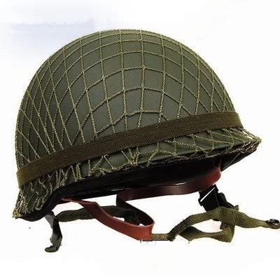 GPP Perfect 2021 new WWII US Army M1 Helmet Net Canvas Green with Replica San Francisco Mall