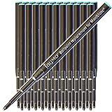 Jaymo - 24 Azul - Recambio para bolígrafo - Recambio para Montblanc 124493-98mm / 3,88 in Long