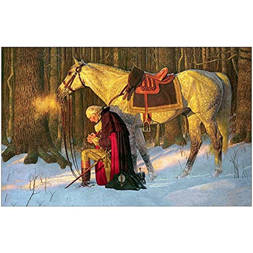 Full Diamond Painting Kit For Adults - Full Square Round Drill 5D Diy Diamond Painting War Military Art Snow Man And Horse Embroidery Cross Stitch Christmas Arts Craft For Home Modern Wall Art Decor,S