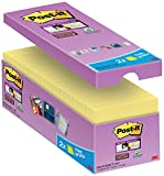 Post-It Bloc de notas adhesivas, 76 x 76 mm, Amarillo