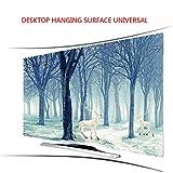 Lxxzz Curved TV Desktop Hanging Hood Tuch Staubdicht Sonnenschutz Professionelle Anpassung Fernseher 55 Zoll,43'