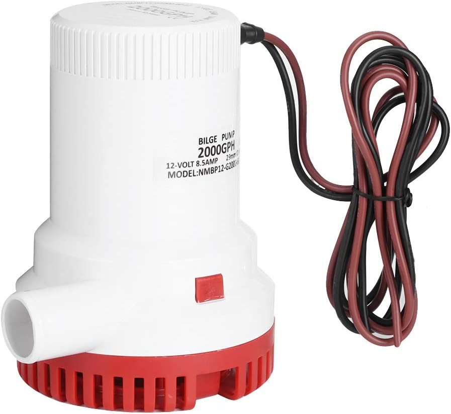 Bilge Same day shipping Pump Drain G Protection Anti‑airlock Brand new