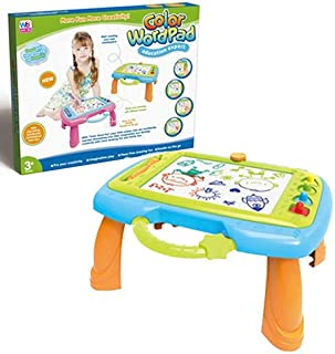 BERRY Color Wordpad Draw Erase Board (Blue)