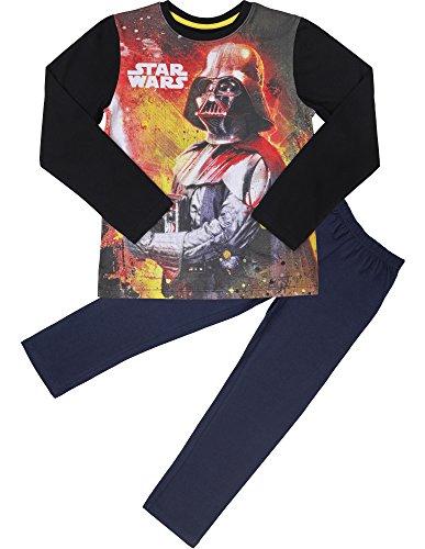 Star Wars Pijama Algodón para Niño EP2082(Negro/Grafito(