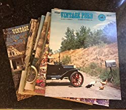 The Vintage Ford (Official Publication of the Model T Ford Club of America) January-February 1976 Thru November-December 1979 Complete 24 Issue Set