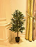 YATAI Nearly Natural Artificial Olive Tree 1.2 Meters High Artificial Plants – Home Indoor/Outdoor Plants – Garden...