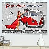 Street-Art in Digital-Art by Mausopardia (Premium, hochwertiger DIN A2 Wandkalender 2022, Kunstdruck...