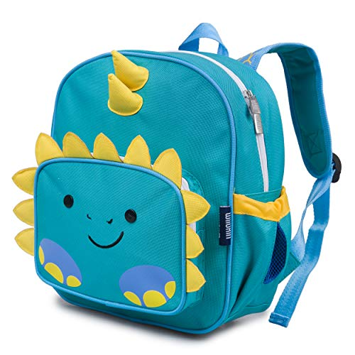 Wildkin Wild Bunch Backpack for Toddler Boys & Girls, Ideal Size for Daycare, Preschool, & Kindergarten, Perfect for School and Travel, Kids Backpacks Measures 11.75 x 10 x 4.25 Inches (Dinosaur)