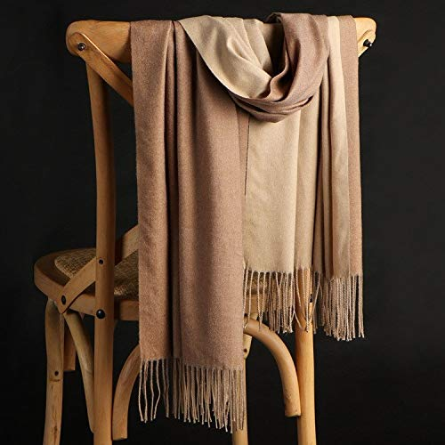 Alvnd Full colour dubbelzijdig geborsteld kasjmier sjaal zachte luxe wintersjaal voor mannen vrouwen lengte 78,7 inch 200 cm Kleur 8