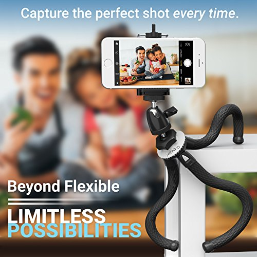 Product Image 6: Xenvo SquidGrip Flexible Cell Phone Tripod and Portable Action Camera Holder – Compatible with iPhone, GoPro, Android, Samsung, Google Pixel and All Mobile Phones