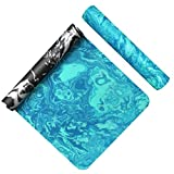 AIMERDAY Non Slip Yoga Mat Eco Friendly TPE Exercise Mat Premium Print 1/4 Inch Thick High Density Lightweight Pilates Mat with Carrying Strap for Floor Workout, Fitness & Hot Yoga 72' x 24'
