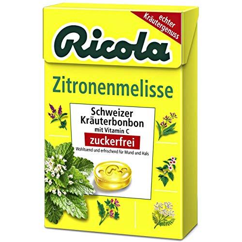 Ricola Zitronenmelisse ohne Zucker 50 g 5er Pack