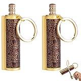 Dragon's Breath Immortal Lighter, Fire Starter Metal Keychain Flint Match Stick Fire Starter...