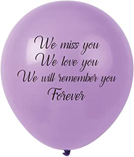 we will miss you balloons