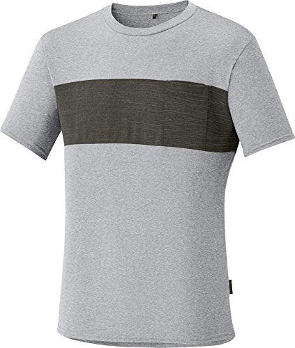 SHIMANO Transit Maglietta Men Alloy 2018Manica Corta Shirts, Grigio - Alloy, XXXL