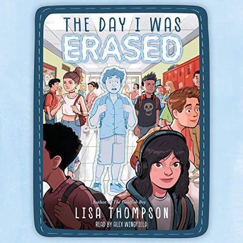 The Day I Was Erased audiobook cover art
