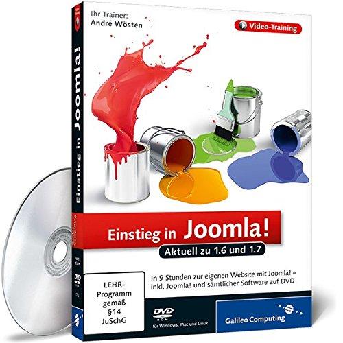 Joomla! 1.6 - Das umfassende Video-Training [import allemand]