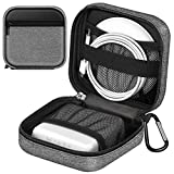 FINPAC MacBook Charger Case, Small Electronic Organizer Bag for MacBook Power Adapter, Portable Tech Pouch Travel Storage for Laptop Accessories, Magic Mouse, USB Drives, GoPro, Gadgets, Tech Gear
