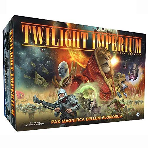 Fantasy Flight Games FFGD0162 Board Game & Extension, Mehrfarbig