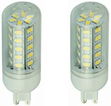 SGJFZD 12V LED Bulbs G9, 12-80v, 6w Light Bulb - for RV Camper Marine Yacht Lorry 2pcs-Pack (Color : Warm White)