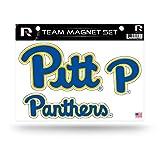NCAA Pittsburgh Panthers Die Cut Team Magnet Set Sheet