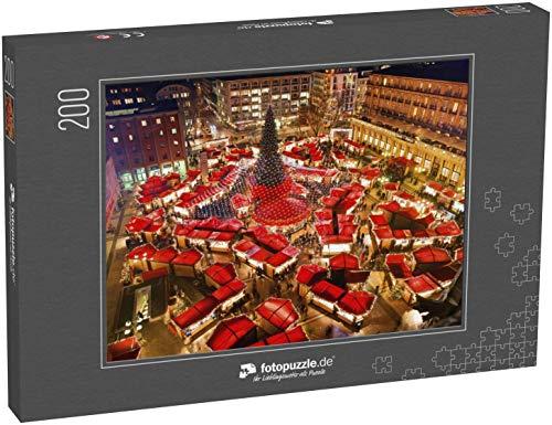 fotopuzzle.de Puzzle 200 Teile Weihnachtsmarkt am Kölner Dom Berühmtester Weihnachtsmarkt im Herzen Kölns in der Nähe des Kölner Doms