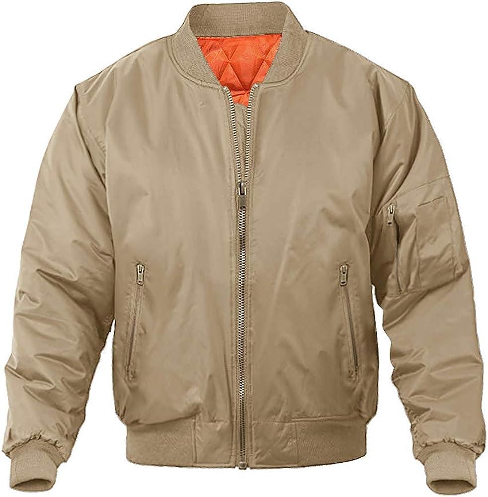 MAGNIVIT Men's Bomber shop Jacket Fall Luxury goods Winter Casual Military