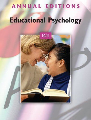 Annual Editions: Educational Psychology 10/11