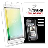 Premium XtremeGuard Full Body Screen Protector Front and Back for iRulu P2 7' Phablet (Ultra Clear)