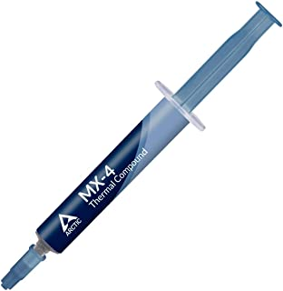 ARCTIC MX-4 2019 Edition - Thermal Compound Paste - Carbon Based High Performance - Heatsink Paste - Thermal Compound CPU ...