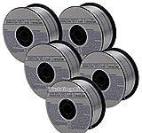 WeldingCity 5 Rolls of ER4043 Aluminum MIG Welding Wire 1-Lb Spool 0.035' (0.9mm)